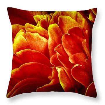 Temptation Throw Pillow by Darlene Kwiatkowski