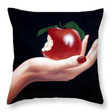 Temptation I Throw Pillow