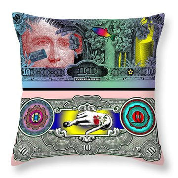 Ten Dream Bill Throw Pillow