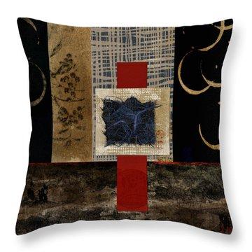 Ten Moons Throw Pillow