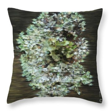 Tenacity Throw Pillow by Michelle Twohig