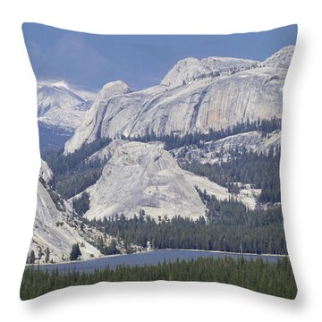 Tenaya Lake Grandeur Throw Pillow