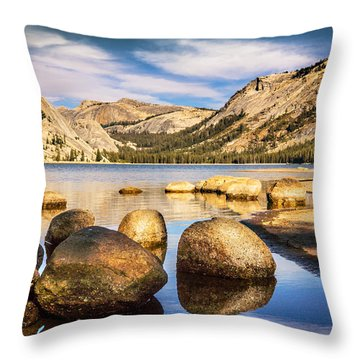 Tenaya Lake Stones Throw Pillow