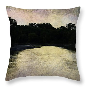 Tender Sundown Throw Pillow
