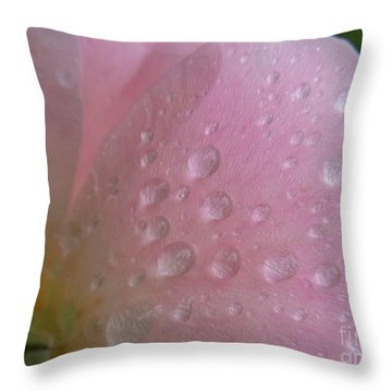 Tender Touch Throw Pillow