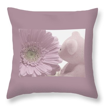 Tenderly Throw Pillow