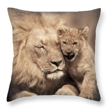 Tenderness Throw Pillow