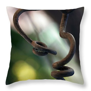 Tendrilisms Throw Pillow
