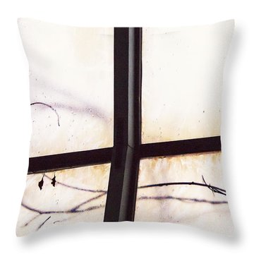 Tendrils Throw Pillow by Margie Hurwich