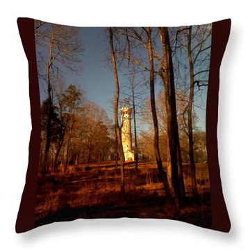 Tennessee Battle Fort Throw Pillow