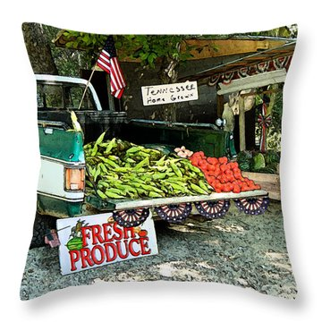 Tennessee Homegrown Throw Pillow