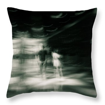 Throw Pillow featuring the photograph Tension by Alex Lapidus