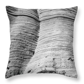 Tent Rocks Wall Throw Pillow by Steven Ralser