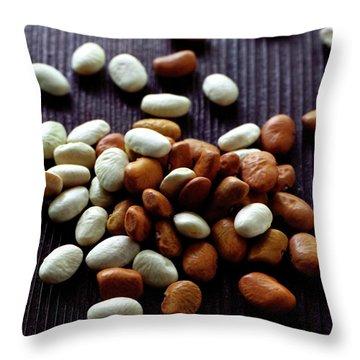 Tepary Beans Throw Pillow
