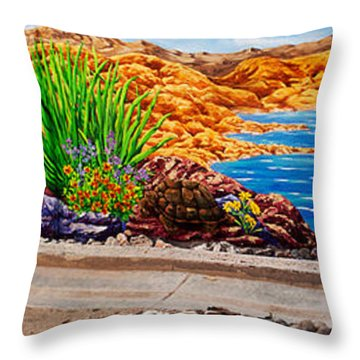 Teri1 Throw Pillow