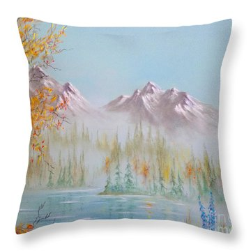Termination Dust Throw Pillow