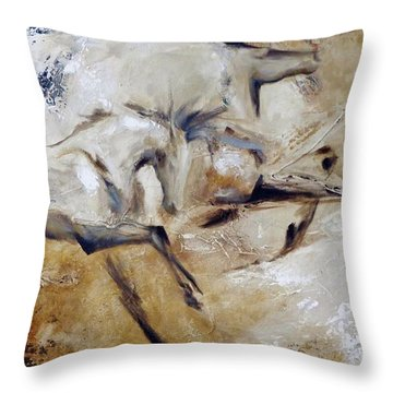 Terra Firma Throw Pillow