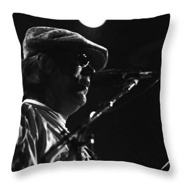 Terry Kath 1976 Throw Pillow