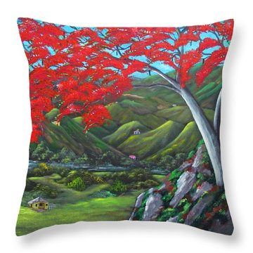 Tesoro De Mi Isla Throw Pillow