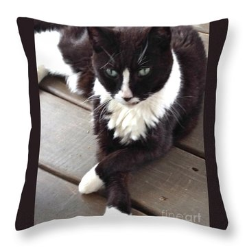 Tess The Temptress Throw Pillow