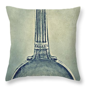 Silver Spoon Throw Pillow