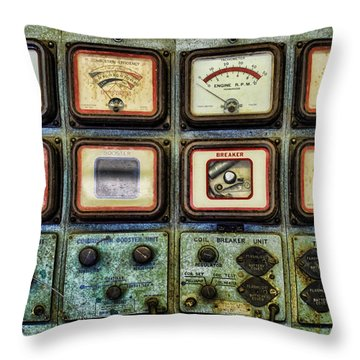 Testing Throw Pillow by Heather Applegate