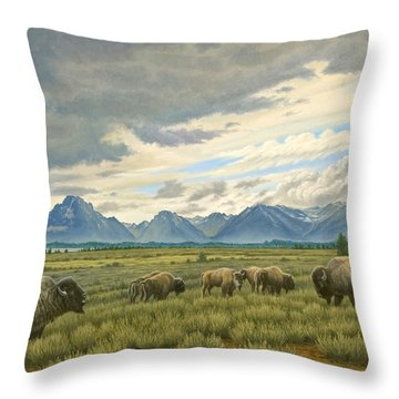 Buffalo Throw Pillows