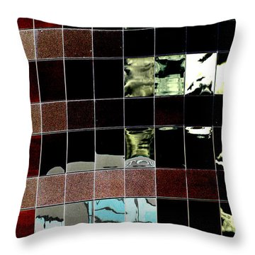 Throw Pillow featuring the photograph Tetris by Christiane Hellner-OBrien