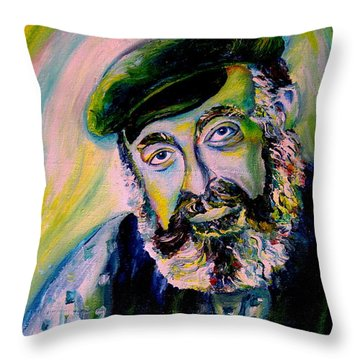 Tevye Fiddler On The Roof Throw Pillow