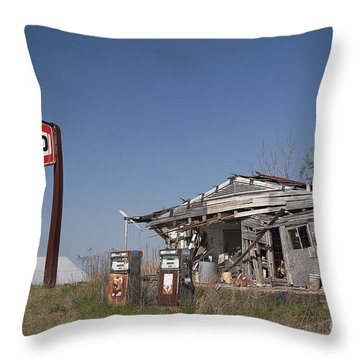 Texaco Country Store Throw Pillow