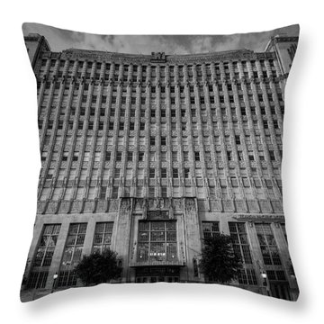 Texas And Pacific Lofts Throw Pillow