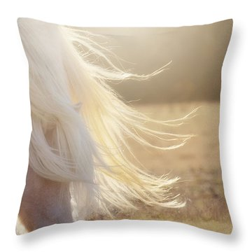 Texas Gold Throw Pillow