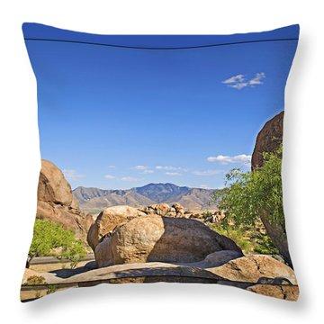 Texas Canyon 2 Throw Pillow