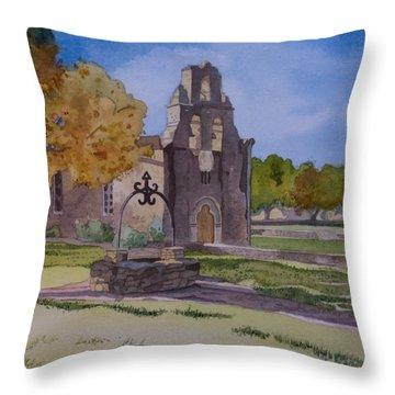 Texas Mission Throw Pillow