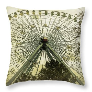 Texas Star Old Fashioned Fun Throw Pillow