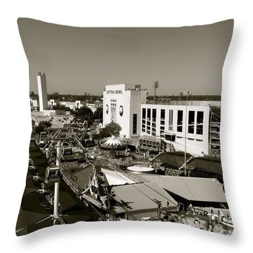 Texas State Fair II Throw Pillow