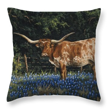 Texas Traditions Throw Pillow