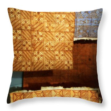 Textile1 Throw Pillow