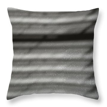 Texture In The Shadows Throw Pillow by Christi Kraft