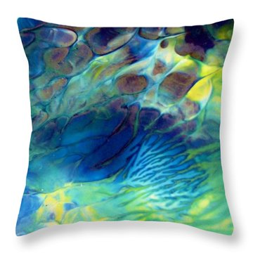 Textured Abstract 5 Throw Pillow