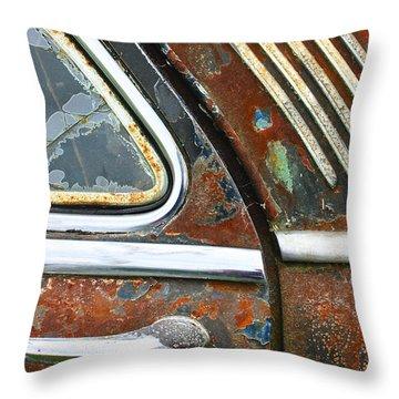 Textures Throw Pillow by Jean Noren