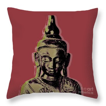 Thai Buddha #1 Throw Pillow