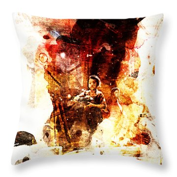Thai Red Kid Throw Pillow
