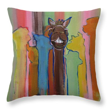 Thank You All For Coming Throw Pillow