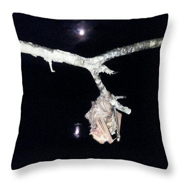 Thank You Lord For Saving Me Throw Pillow by Donna Brown