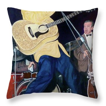 Thank You Very Much Throw Pillow by Tom Roderick