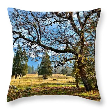 Thanksgiving Blessings Throw Pillow