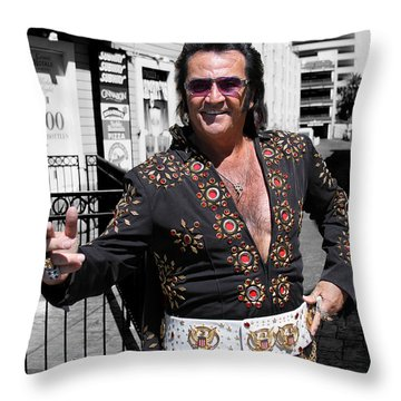 Thankyouverymuch Las Vegas Throw Pillow by William Dey