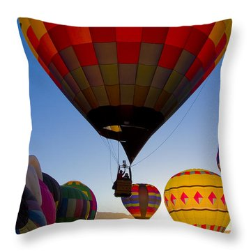 That A Way Throw Pillow by Gary Holmes