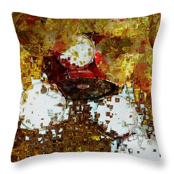 That Beat Throw Pillow by Jack Zulli
